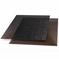 Placa policarbonat solid ST, bronz, 1250 x 1025 x 3 mm
