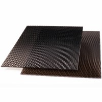 Placa policarbonat solid prisma, bronz, 1250 x 1025 x 2 mm