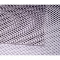 Placa policarbonat solid prisma, transparent, 1250 x 1025 x 2 mm