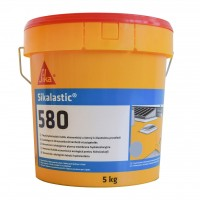 Membrana lichida, Sikalastic 580, gri, 5 kg + Sika Reemat Premium