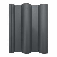 Tigla de beton 1/1 Bramac Skandia, gri antracit