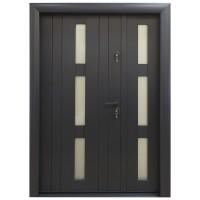 Usa metalica pentru exterior Arta Door 426D, stanga, gri antracit, 140 x 201 cm + accesorii