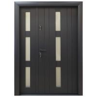 Usa metalica pentru exterior Arta Door 426D, dreapta, gri antracit, 140 x 201 cm + accesorii