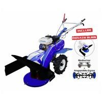 Motocultor pe benzina Gigant 6049, 7 CP, 3 viteze + sistem de cosit cu tambur rotativ