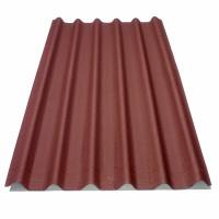 Placa ondulata bituminoasa Onduline Easyfix, rosu, 38 x 810 x 2000 mm