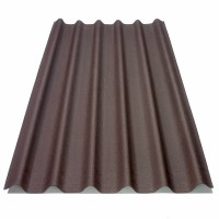 Placa ondulata bituminoasa Onduline Easyfix, brun, 38 x 810 x 2000 mm
