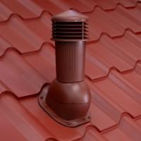 Cos pentru ventilare, Bilka Balcanic, rosu inchis (RAL 3009) lucios
