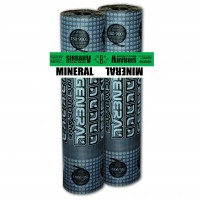 Membrana bituminoasa Sirrah V Mineral, cu armatura fibra de sticla ranforsata, 3.5 kg/mp, 10 mp/rola