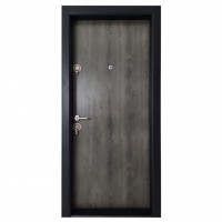 Usa interior metalica Arta Door Clasic PVC, dreapta, ash oak, 201 x 88 cm