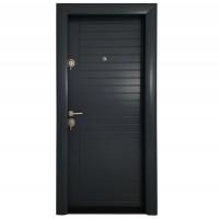 Usa interior metalica Arta Door Modern PVC 370, dreapta, antracit, 201 x 88 cm