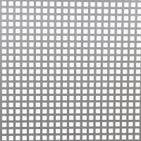 Tabla otel perforata, perforatii patrate, C10U15 , 1 x 2000 x 1000 mm