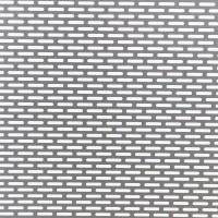 Tabla otel perforata, perforatii ovale, LR 4 x 2, 1 x 2000 x 1000 mm