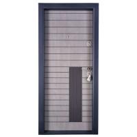 Usa interior metalica Megadoor Prestige 1 lux 1034, stanga, gri stejar, 200 x 88 cm