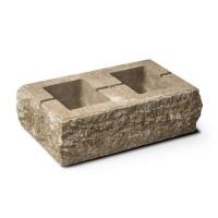 Element stalp Avangard, beton, mokka, 500 x 300 x 160 mm