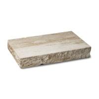 Capac stalp Avangard, beton, mokka, 550 x 360 x 80 mm
