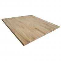 Blat masa Promobila, lemn, finisaj stejar natur, 800 x 800 x 28 mm