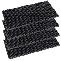 Placa fonoabsorbanta Cofrag RF 28, izolare fonica, spuma poliuretanica, 1000 x 500 x 60 mm, 4 bucati