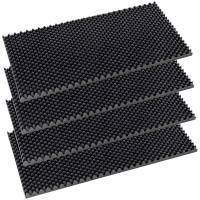 Placa fonoabsorbanta Cofrag RF 28, izolare fonica, spuma poliuretanica, 1000 x 500 x 30 mm, 4 bucati