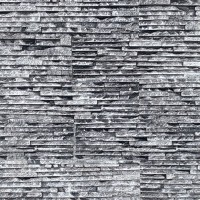 Piatra decorativa, interior / exterior, Canyon 05, negru + alb, 0.68 mp