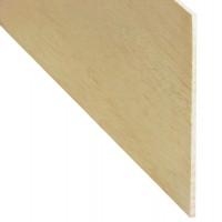 Rigla rindeluita lemn balsa 1000 x 100 x 2 mm