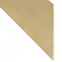Rigla rindeluita lemn balsa 1000 x 100 x 4 mm