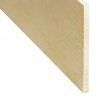 Rigla rindeluita lemn balsa 1000 x 100 x 5 mm
