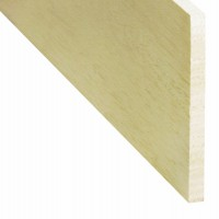 Rigla rindeluita lemn balsa 1000 x 100 x 8 mm