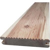 Scandura canelata, lemn pin, natur, 2000 x 91 x 19 mm