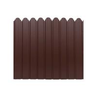 Gard metalic Smart Fix, maro mat (RAL 8017), 1500 x 1160 x 0.5 mm
