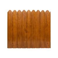 Gard metalic Smart Fix, imitatie lemn, 1700 x 1160 x 0.5 mm