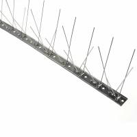 Banda antipasari cu suport din inox, 1000 x 100 mm, 60 tepi