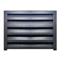 Panou gard jaluzea Atlas 1545 x 2000 x 115 x 0.5 mm, tabla otel zincat, RAL 7024