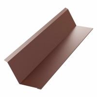 Bordura la perete Bilman, maro mat (RAL 8017), 0.4 mm