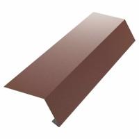 Bordura streasina Bilman, maro mat (RAL 8017), 0.4 mm