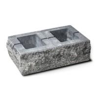 Element stalp Avangard, beton, antracit, 500 x 300 x 160 mm
