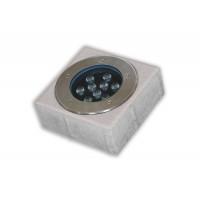 Pavaj patrat P3 cu lampa LED 9W alb+crem, 200 x 200 x 60 mm
