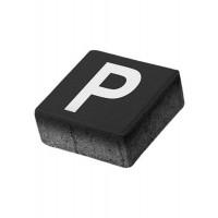 Pavaj patrat P5 parcare, antracit, 200 x 200 x 80 mm