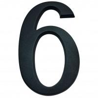 Numar 6 / 9 pentru casa, Sartpol, aluminiu, negru mat, exterior, 20 x 13 cm