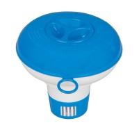 Distribuitor flotant pentru substante intretinere apa piscina, Intex 2904, 5 inch