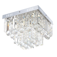 Plafoniera LED Cleo 68594-6A, 6 x 3W, lumina neutra, crom + acril