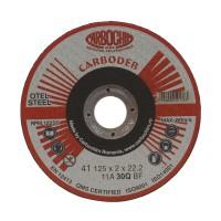 Disc debitare otel, Carbochim 11ABACH1TRS, 125 x 22.2 x 2 mm