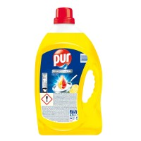 Detergent lichid pentru vase Pur Power, aroma lamaie, 4.5 l