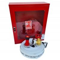 Cutie hidrant echipata, Mar-Ina, otel / sticla / cauciuc,  55 x 20 x 65 cm