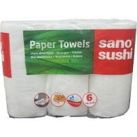 Sano Paper Towel Soft Silk 6Role 2806
