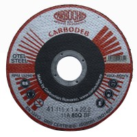 Disc debitare otel, Carbochim 11ABACH1TRS, 115 x 22.2 x 1 mm
