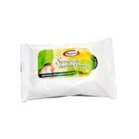 Servetele umede demachiante Fresh Runy, albe, 20 buc / pachet
