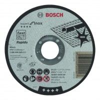 Disc debitare inox, Bosch Expert for Inox - Rapido, 115 x 22.23 x 1 mm