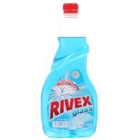 Rezerva solutie geamuri Rivex Clear, fresh, uscare rapida, 750 ml