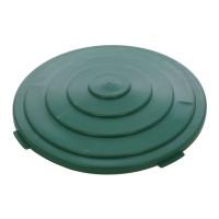 Capac pentru butoi 200 litri Plastor 24181, PEHD, verde, 80 x 2.5 cm