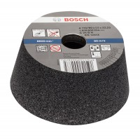 Disc tip oala pentru slefuire beton, Bosch 1608600239, 110 x 90 x 55 mm, granulatie 24